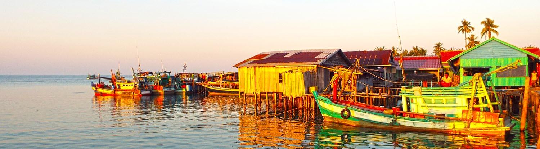 Koh Rong fishermen village