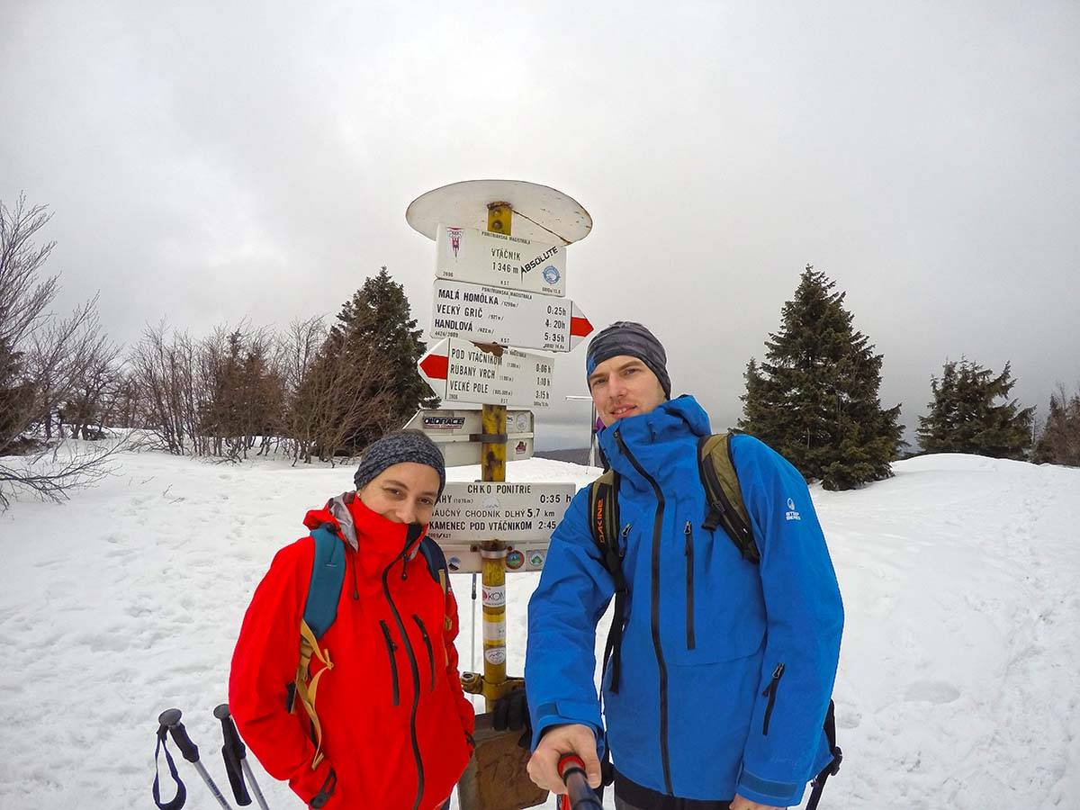 On the top of Vtacnik 1.346m