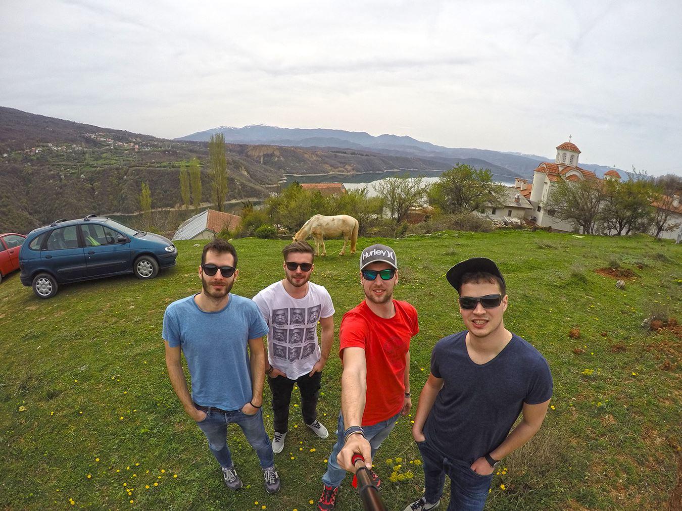 Mavrovo lake selfie