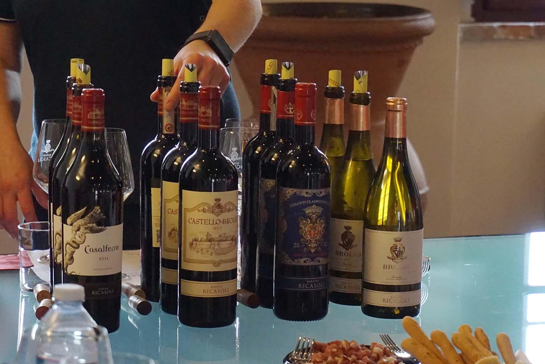 Tuscany wine tastings at Barone Ricasoli winery