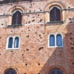 Castello di Brolio war shooting