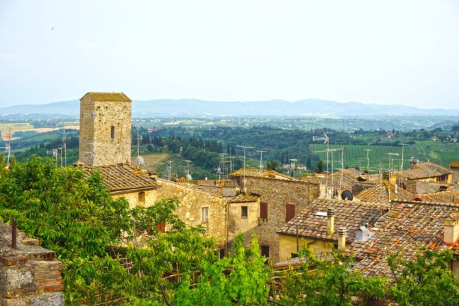 San Gimignano views
