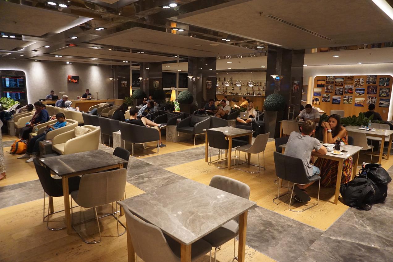 Primeclass lounge Ataturk airport Istanbul