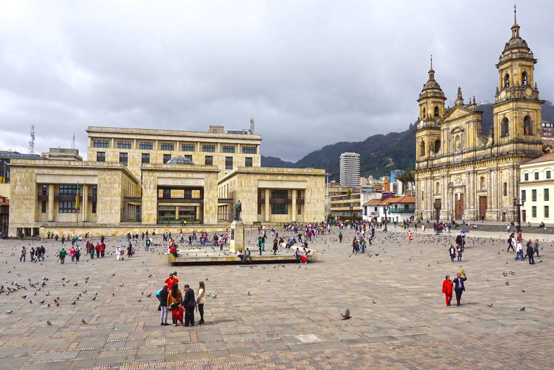 Plaza de Bolivar, Bogota, Colombia