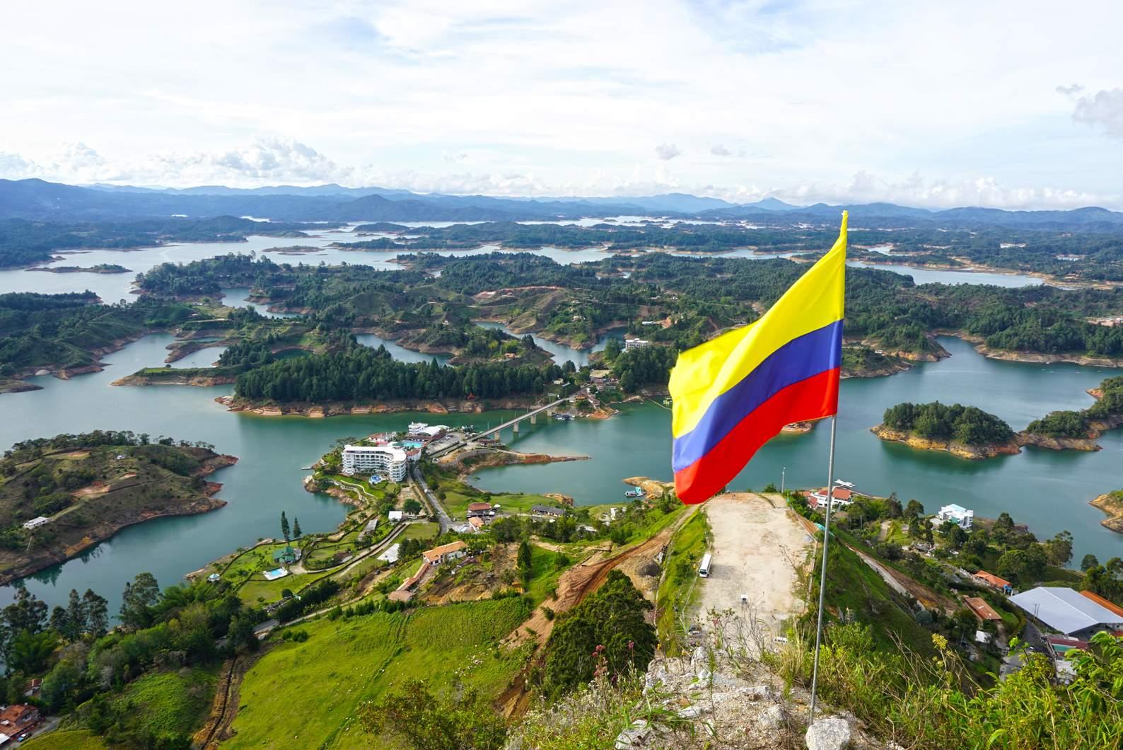 View from El Penol, Guatape
