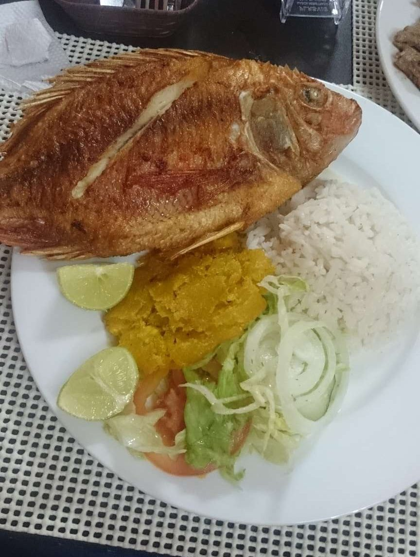 local-fish in Cartagena