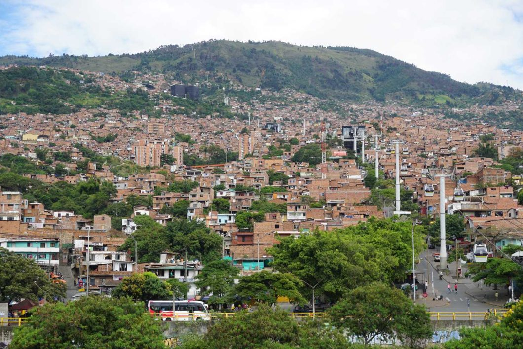 Medellin urban cable ways