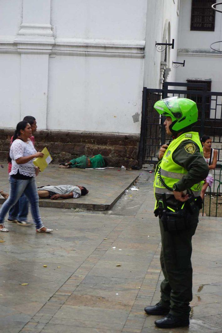 Police in Medellin