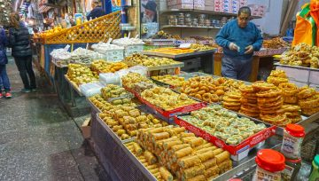 Local sweets in the night market