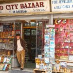 Old city bazaar