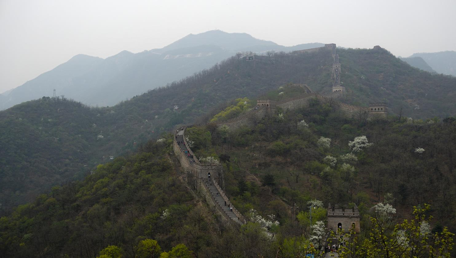 Great wall of China Mutianyu part
