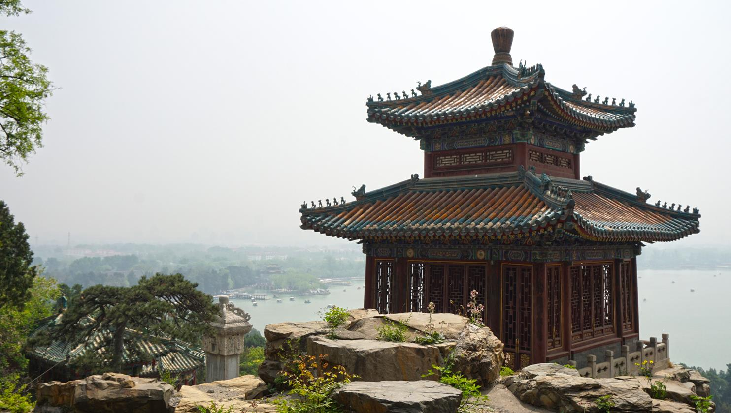 Pavilion of Precious Clouds at Summer palace