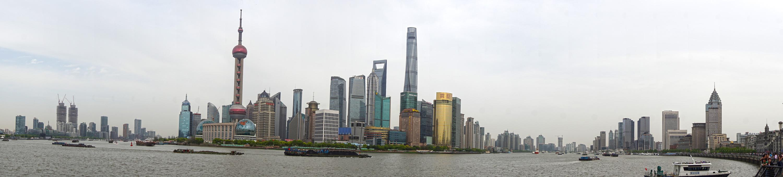 Shanghai's impressive skyline