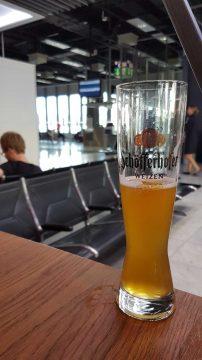 Schofferhofer, Dusseldorf airport, Germany