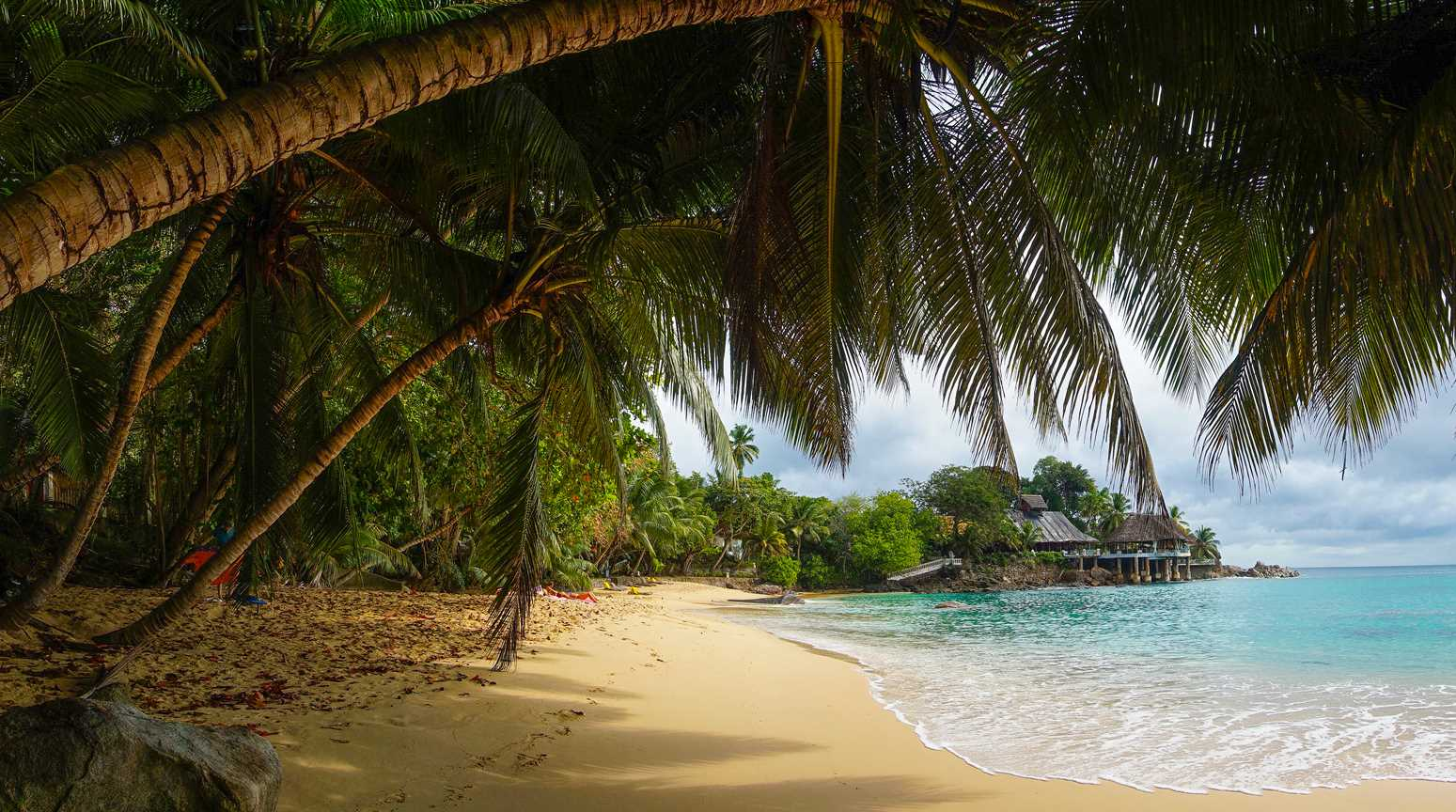Sunset beach, Mahe island, Seychelles