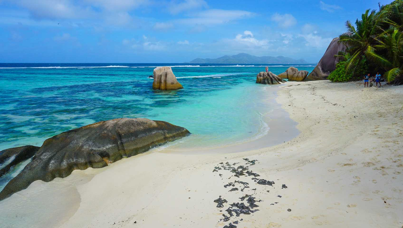 Source d´Argent beach, La Digue, Seychelles