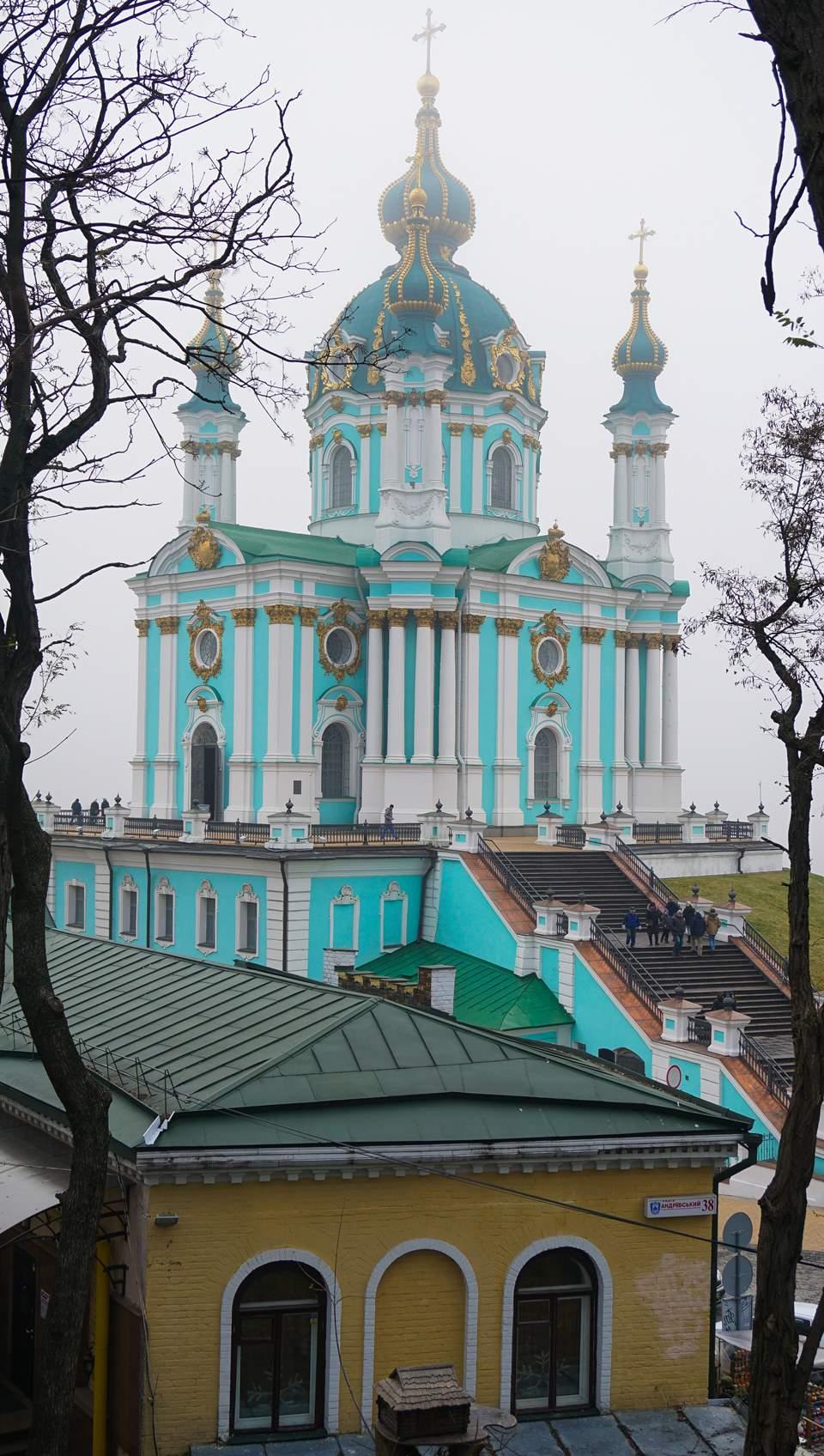 Andriyivski Uzviz, Kyiv Ukraine