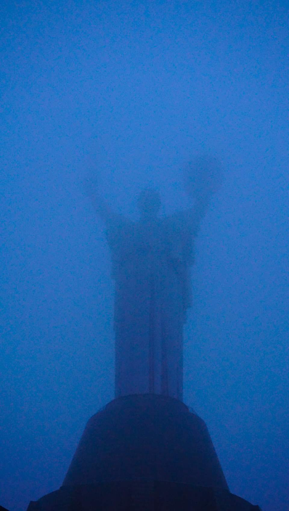 The Motherland monument in Kyiv