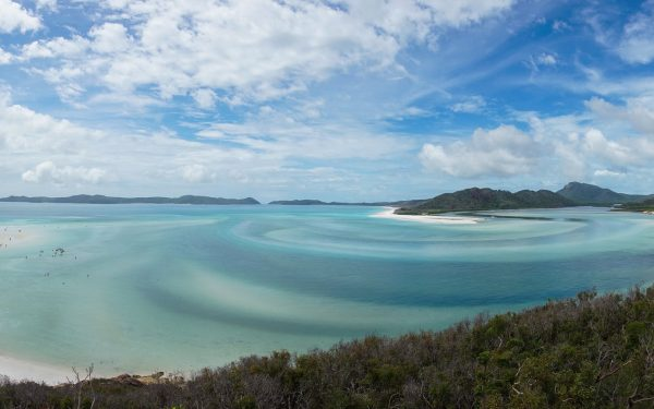 Hill Inlet, Whitehaven island, Australia