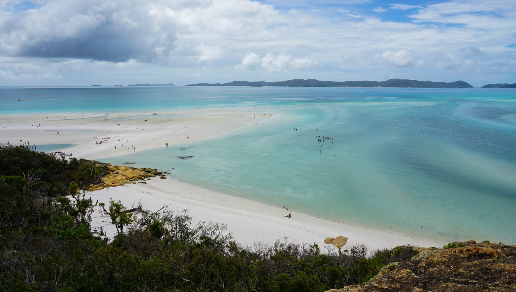 Hill Inlet lookout, Whitsunday Island, Australia