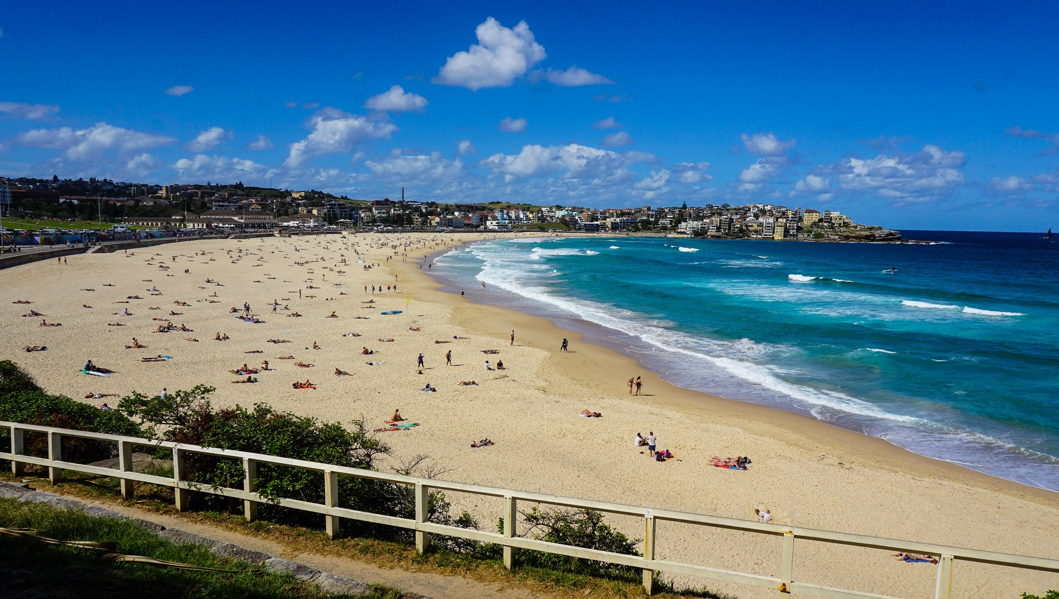 Famous Bondi beach in Sydney