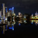 Gold Coast in the night