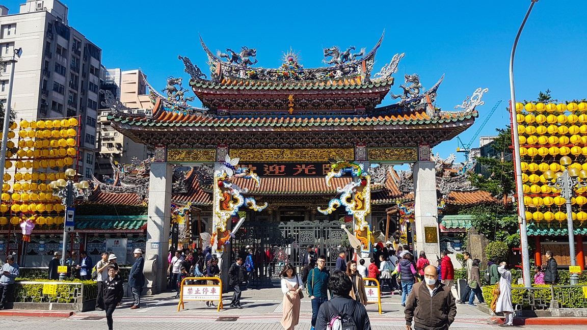 Longshan temple in Taipei