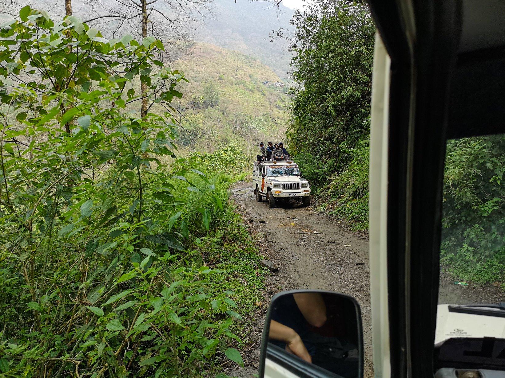 Sidding village to Pokhara