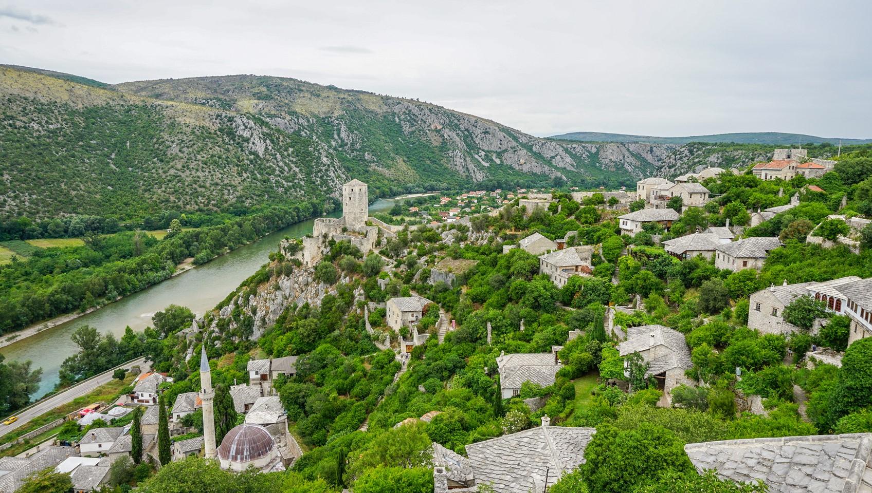 Stone village of Pocitelj