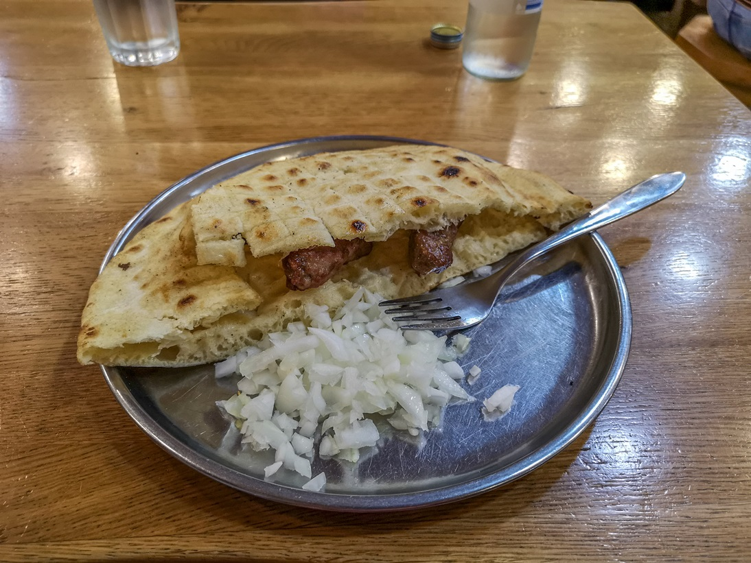 Cevapi - typical food in Bosnia and Herzegovina