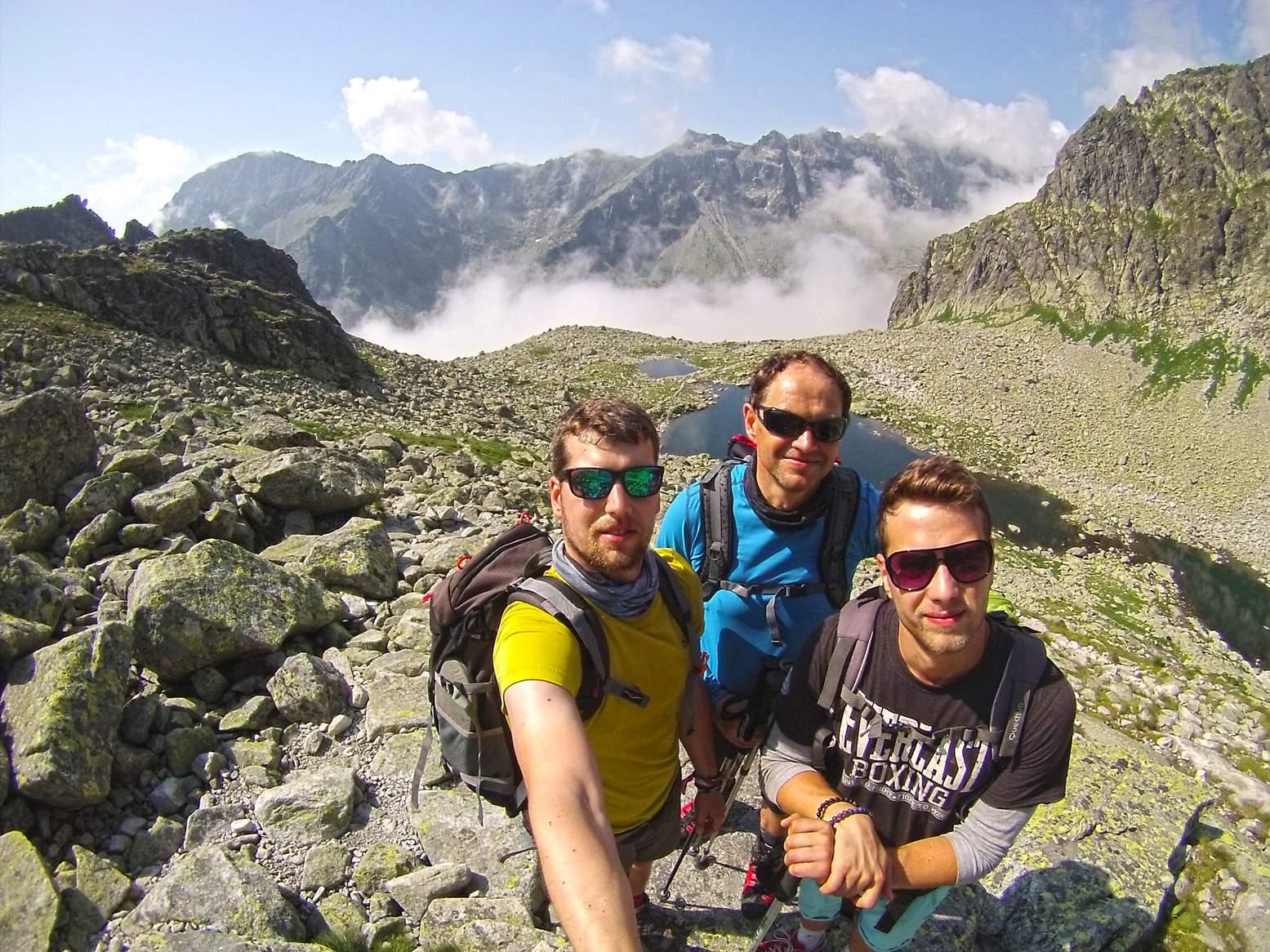 High Tatras Priecne sedlo