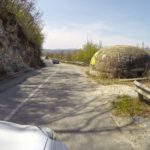 War bunker on the way to Albania