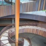 Antinori winery modern staircase