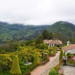 Monserrate mountain Bogota Colombia