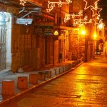 Night in Christian quarter