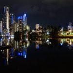 Gold Coast in the night