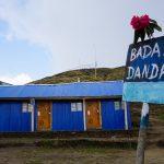 "Yak farm and ""cloudy mountain"""