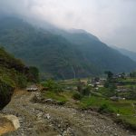 The way down from Siding village to Pokhara