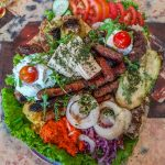 traditional mixed meat platter